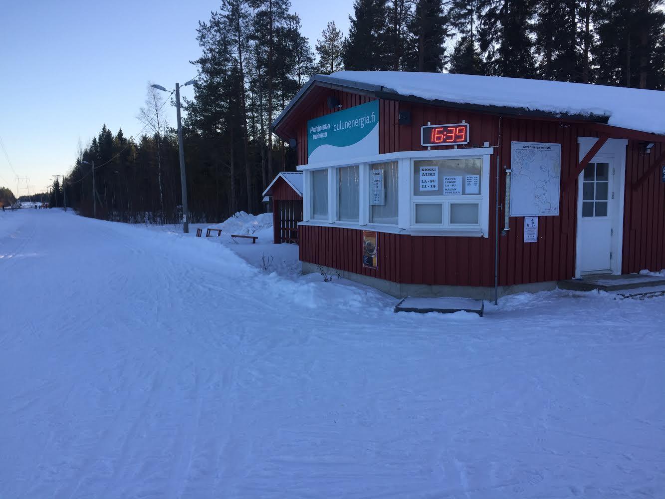 Kioski talvella